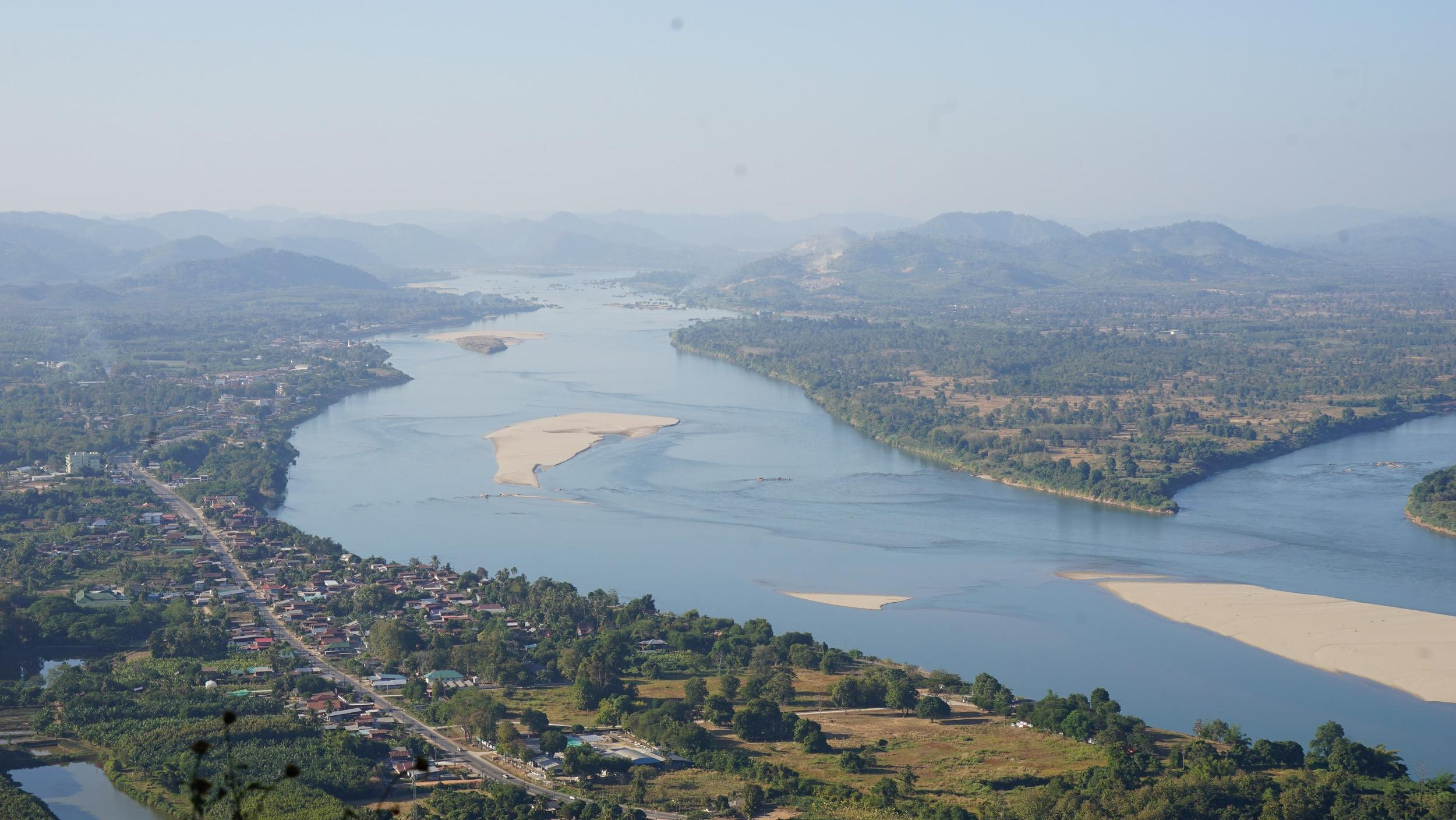 blue mekong river